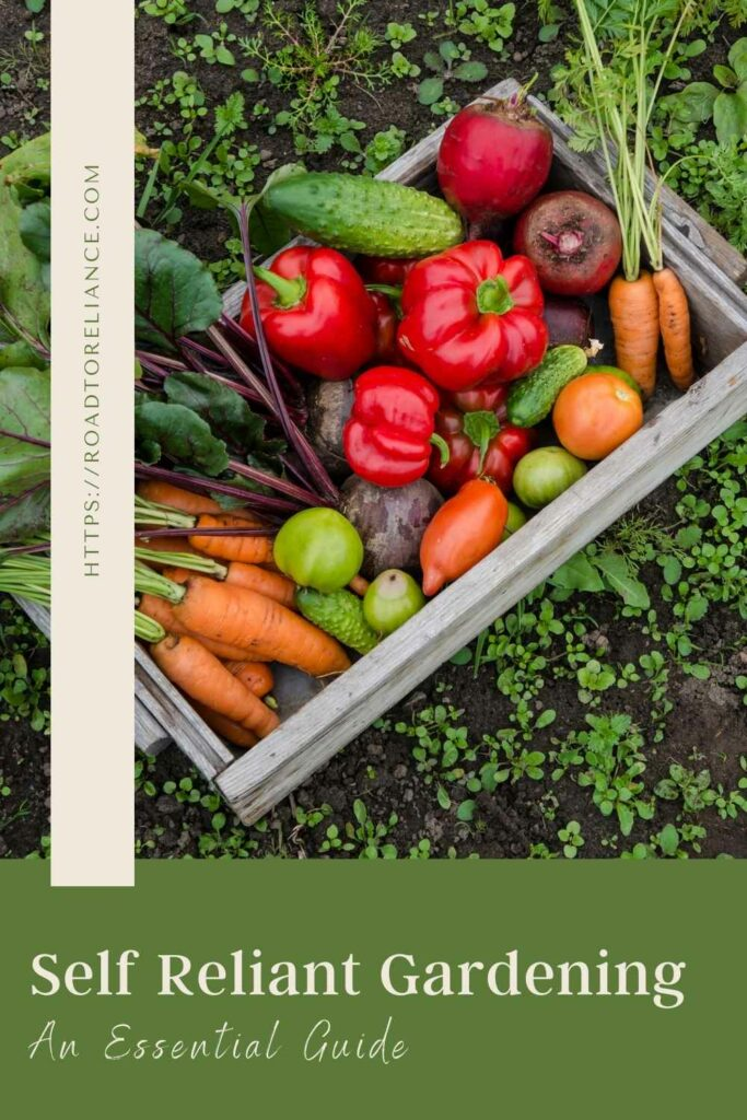 Use this essential guide to self-reliant gardening to get started feeding your family healthy food from your own property.