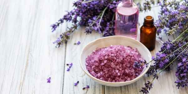 Lavender for bath salts and sachets
