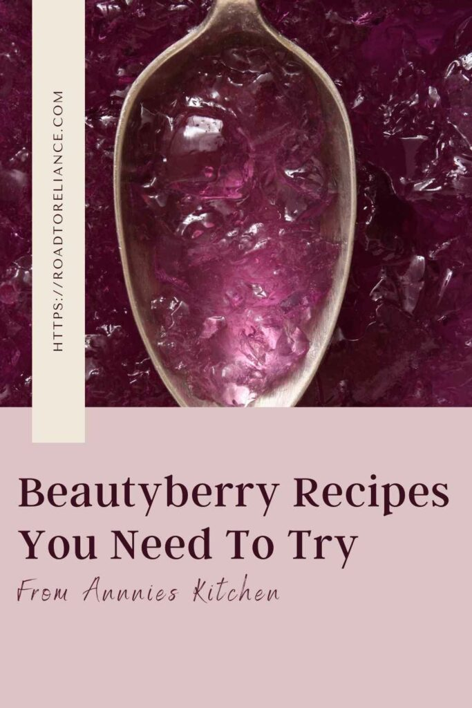 The bountiful berries on the American beautyberry can make jelly, sauces, and more. These beautyberry recipes will add a bit more flavor to your pantry.