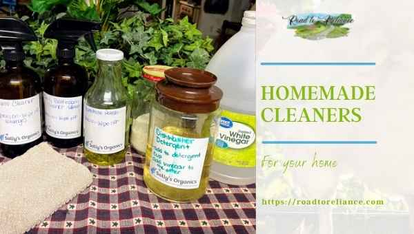 homemade cleaners featured image